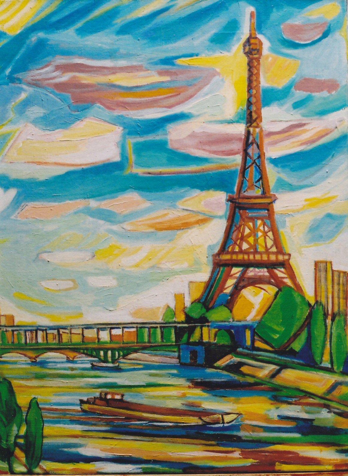 Mes tableaux Parisiens